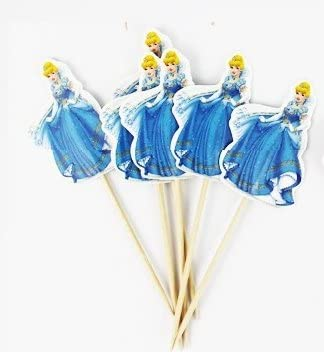 Forbes Favors/™ Birthday Party Decorations Cinderella Decorative Cupcake Toppers,24 PCS