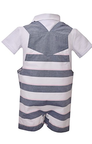 Bonnie Jean Baby Boy's Sailboat Coverall (4T) by Bonnie Jean (Image #1)