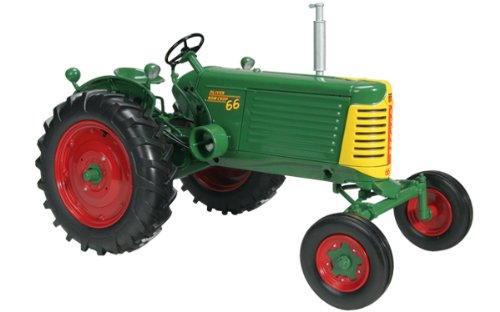 SpecCast SCT 394 Green/Yellow 1/16 Scale Oliver 66 Row Crop Gas Wide Front (Front Model Tractor)