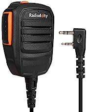 Radioddity RS22 Luidspreker Draagbare microfoon voor radiodidity GD-77 DM-5R DMR radioapparatuur transceiver, UV5RTP GT-3TP GT-5TP BF-F8HP UV-82HP UV8000E