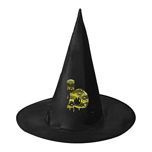 Barn Dance Party Costumes (Letter B Halloween Dance Party Hat Witch Hat Cap Costume)