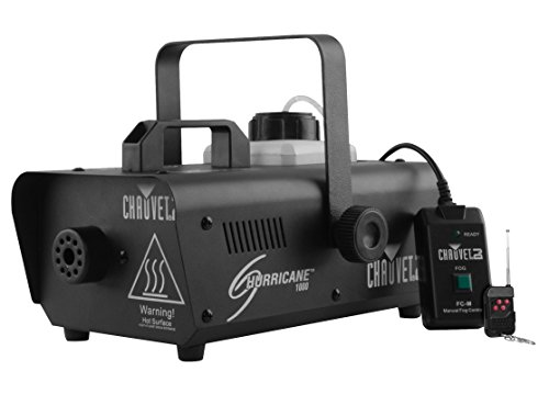 Haze Fog Machine (CHAUVET DJ Hurricane 1000 Compact Fog Machine w/Wired Remote)