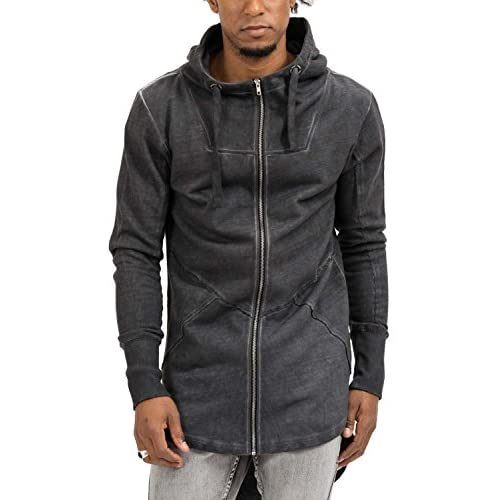 low-cost trueprodigy Casual Hombre marca Sudadera Zip basico ropa retro  vintage rock vestir moda a10951cf5ab