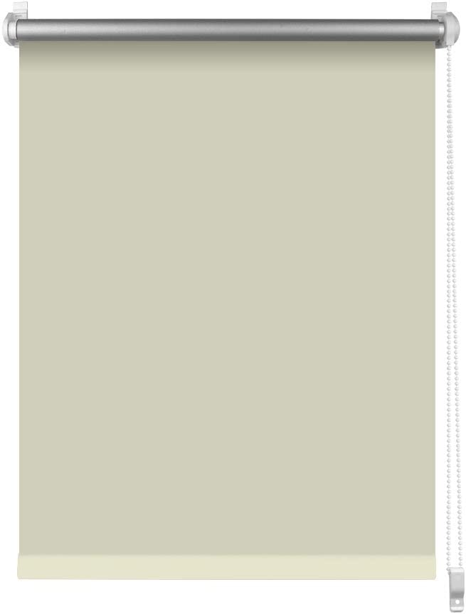Estor de Opaco Blackout Blind Silver Coating Opaque Protecci/ón de Pantalla para Ventanas y Puertas Estor Opaco para Ventana Estor Enrollable//Thermo S SIENOC Klemmfix Blanco, 50x150 cm
