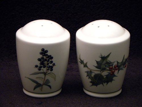 Noritake The Country Diary Of An Edwardian Lady #9342L Salt & Pepper