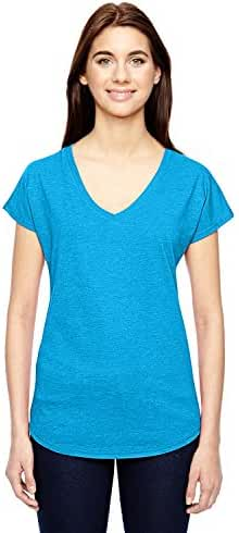 Anvil Ladies' Tri-Blend V-Neck T-Shirt