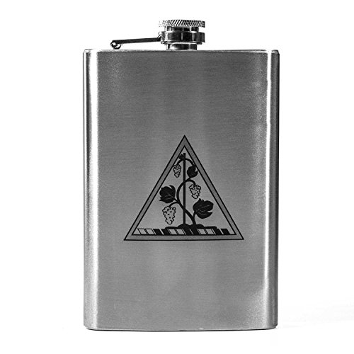 - 8oz State National Guard - Connecticut Flask L1