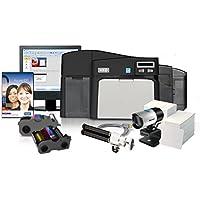 Fargo DTC4250e Dual Side ID Card Printer with Magnetic Stripe Encoding - 52110