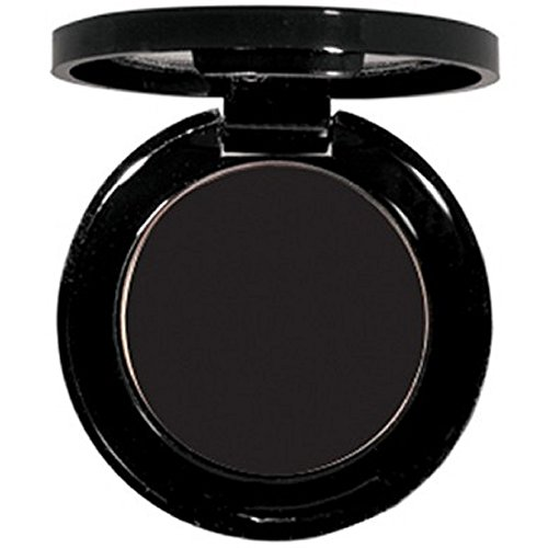 Matte EyeShadow Single- Hypoallergenic - Pressed Powder - High Pigment True Matte Finish - Use As Wet or Dry Eye shadow .06 oz. (Black)