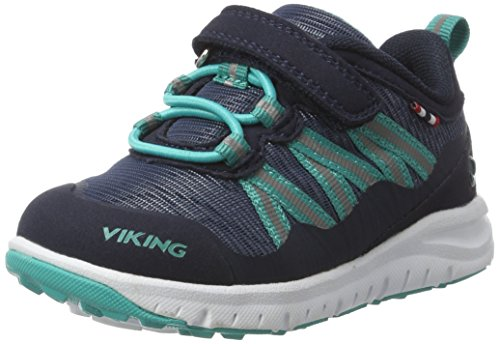 Mixte 504 Bleu Navy Holmen Viking Chaussures de Green Cross Enfant IxPaqTw4