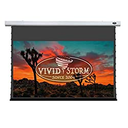 Vividstorm 4k 3d Uhd Mortar Mount Tab Tensioned Screen Electric Drop Down Projector Screen 100 Inch Diagonal 16 9 With Ambient Light Rejecting Wireless 12v Projector Trigger Model Vxzlalr100h
