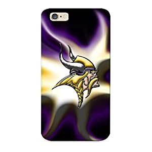 Guidepostee Iphone 6 Well-designed Hard Case Cover Minnesota Vikings By Bluehedgedarkattack Protector For New Year's Gift