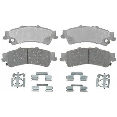 ACDelco 14D792CH Advantage Ceramic Rear Disc Brake Pad Set with Hardware: Automotive
