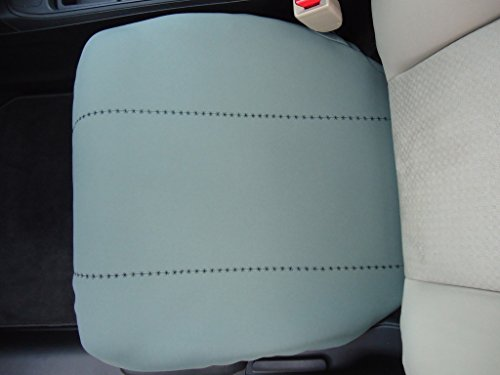 Fits All Ford F150, F250, F350 Trucks Neoprene Bucket Seat Cover (Bottom Seat Only) with Accent Stitching will Protect New or Restore Worn Out Seats: Price is for (Will Accent)