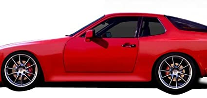 1977-1988 Porsche 924 Duraflex Turbo 944 Look Side Skirts Rocker Panels - 2 Piece