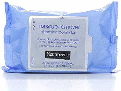 Neutrogena Makeup Remover Cleansing Towelettes 21 ea (Pack of 11)