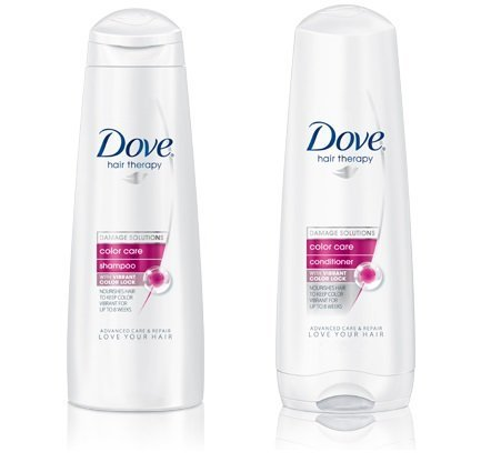 - Dove Color Care Shampoo & Conditioner 12oz Combo SET **PACKAGE MAY VARY**