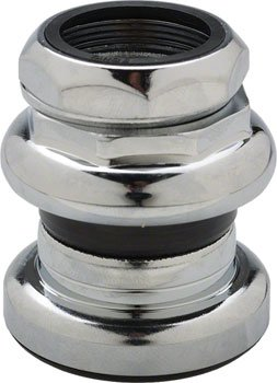 Tange Passage New 1'' Threaded Headset, 26.4mm Chrome by Tange-Seiki (Image #1)