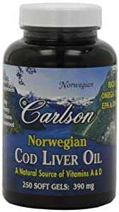 Carlson labs cod liver oil review