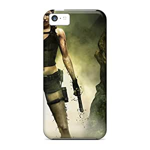 Cute Tpu Rgwens Tomb Raider Games Case Cover For Iphone 5c