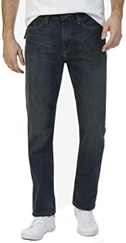 Nautica Men's Straight Fit Stretch Jeans Blue 40 x 32