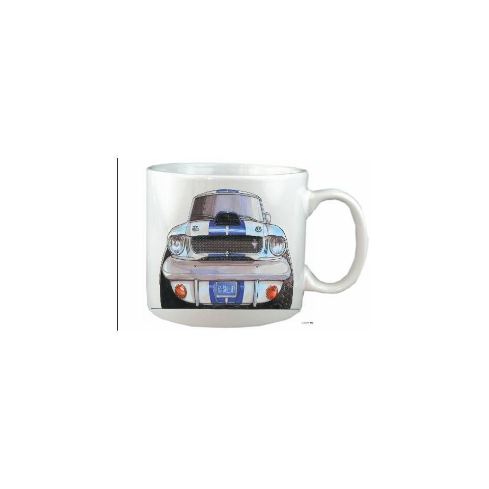 FORD MUSTANG SHELBY Koolart 10 fl oz CERAMIC MUG Customised FREE760   Mustang Car Mug