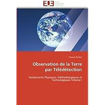 OBSERVATION DE LA TERRE PAR TELEDETECTION