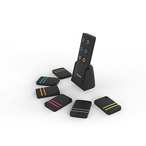Key Finder,LaBetti Wireless RF Item Locator Item Tracker Support Remote Control,Pet,Cell Phone Luggage Purse,Item Locator keychain (Black) by LaBetti