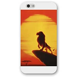 """Diy White Hard Plastic Disney Cartoon the Lion King Diy For SamSung Galaxy S6 Case Cover Only fit Diy For SamSung Galaxy S6 Case Cover """""""