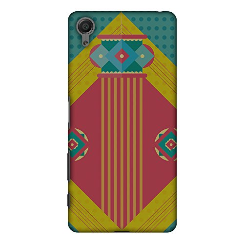 Rose Handcrafted Lamp - AMZER Slim Handcrafted Designer Printed Hard Shell Case Back Cover for Sony Xperia X - Let There Be Lamp
