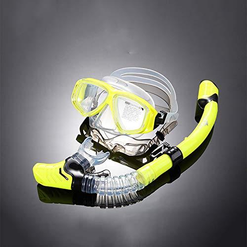 殿堂 スノーケリングマスク調節可能なヘッドストラップ無臭防曇強化ガラス大人ダイビングマスク B07G4J4ZTK B07G4J4ZTK Yellow Yellow Single Single Single|Yellow, 勝田町:5f831819 --- martinemoeykens.com