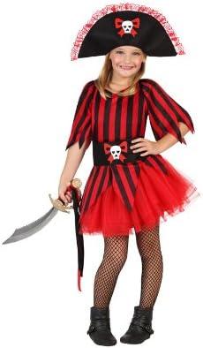 Atosa-23823 Disfraz Pirata, color rojo, 3 a 4 años (23823): Amazon ...