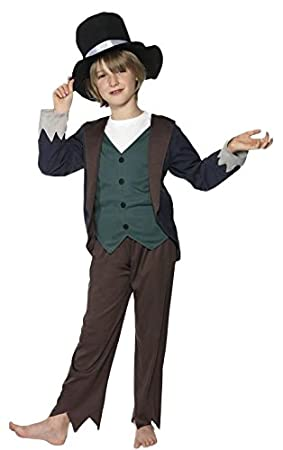 Victorian Fancy Dress Childrens Fancy Dress Oliver Twist Costume Large Age  10 12