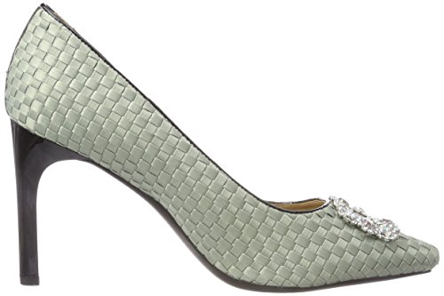 Verde Lt Mujer Zapatos Green Geox Tacón a D de Faviola para wz1Z8qB