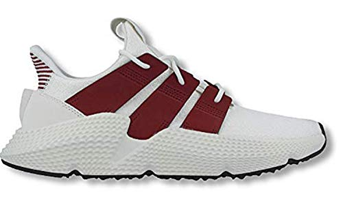 adidas Men's Prophere White/Maroon D96658 (Size: 10.5)