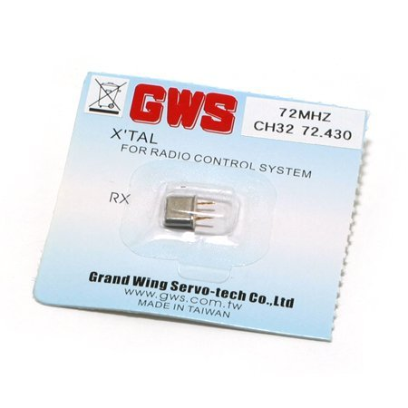 FM Micro Receiver Crystal 72.43 by Grand Wing (Gws Micro Receiver Crystal)