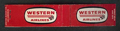 ian Chief logo airline matchbook ()