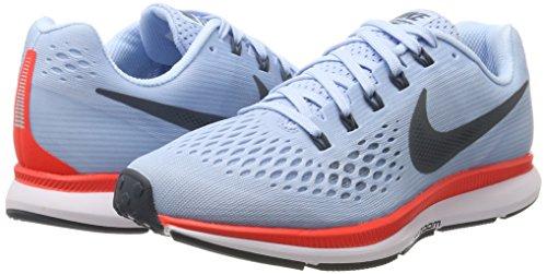 bleu cramoisi Pegasus Zoom 34 Nike Glacé Wmns Air Donna Bleu Blu Scarpe renard blanc Brillant Running P1FFzUwxnq