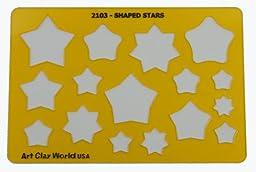Artistic Design Template - Shaped Stars