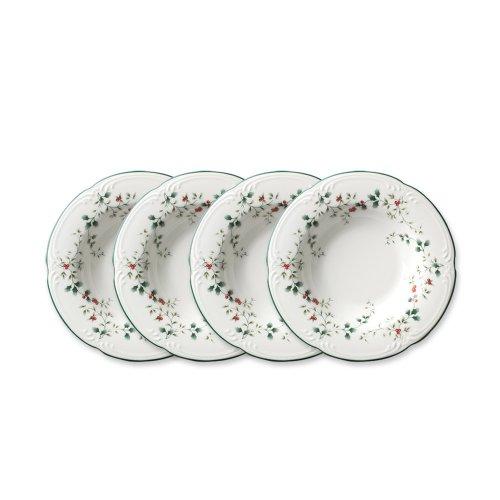 Pfaltzgraff Rim Soup Bowl (Pfaltzgraff Winterberry Rim Soup Bowl, 8-Ounce, Set of 4)
