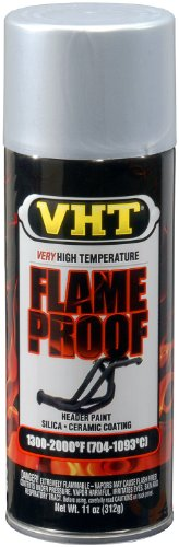VHT (SP106-6 PK Flat Silver Extreme High Temperature Coating - 11 oz. Aerosol, (Case of 6)