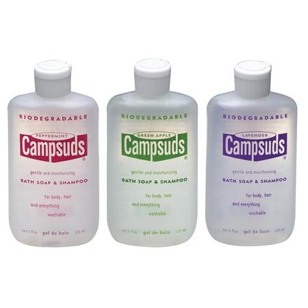 Campsuds Bath Soap & Shampoo Mint/4 oz. by Campsuds