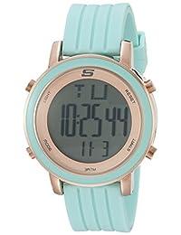 Skechers Women's SR6011 Digital Display Quartz Blue Watch