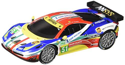 Carrera USA 20064053 64053 Ferrari 458 Italia GT2 AF Corse, No.51 GO Analog Slot Car Racing Vehicle 1:43 Scale, - 43 Slot 1 Cars Scale