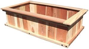 Amazoncom 2X4 Garden Box Kit Redwood Patio Lawn Garden