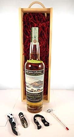 Bruichladdich 12 Year Old Islay Scotch Whisky 1991 High Spirits Collection Bottling en una caja de regalo con cuatro accesorios de vino, 1 x 700ml