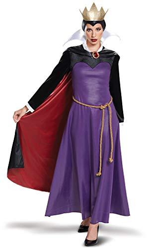 Disguise Women's Evil Queen Deluxe Adult Costume, Purple,