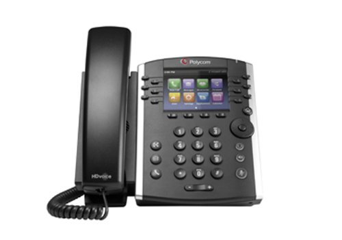 POLYCOM PY-2200-46162-025 / VVX 410 12-Line IP Phone Gigabit PoE by Polycom