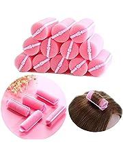 32st skum svamp hår rullar rosa hår rullar mjuka svamp curlers DIY mjuk hår styling frisör verktyg för kvinnor