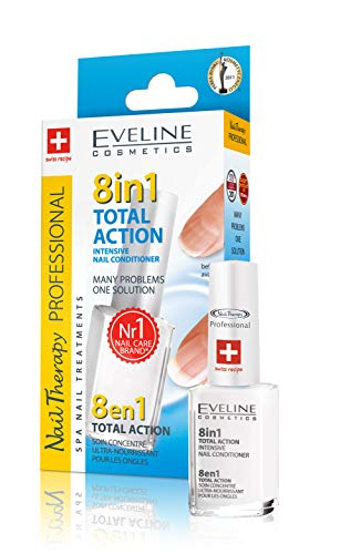 - Eveline Cosmetics Total Action 8 In 1 Intensive Nail Treatment and Conditioner